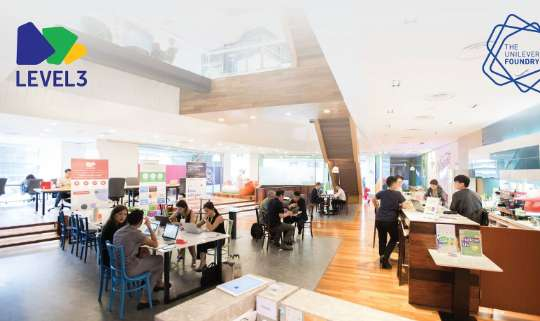 Level3 Workspace by Unilever Foundry and Pedang & Co